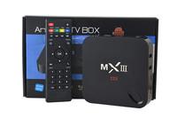 MXIII smart TV Box  Amlogic S802 Quad Core Android 4.4 2G/8G 2.4G/5G WiFi 4Kx2K HDMI XBMC Miracast/DLNA bluetooth MX smart TV