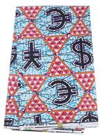 Free Shipping Latest Fabrics Textile Cotton Super Real Wax Hollandis Wax Batik Prints Fabric RW02 6 yards/pc Wholesale