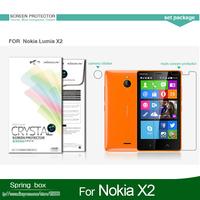 Screen Protector ForNokia X2  NILLKIN Super Clear Anti- fingerprint Protective Film Free Gift