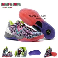 Free shipping New color Bryant Master The Lu men Basketball shoes KB Sports shoes size 7 8 8.5 9 10 11 12