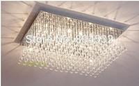 Modern Rain drops Crystal Chandelier Ceiling Light