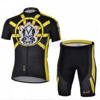 Bike Cycling Clothing Bicycle Wear Suit Short Sleeve Jersey + (Bib) Shorts S-3XL  CC1032