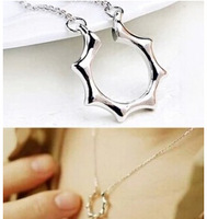 N472 Hot New Fashion Master Sun Jun Delicate Spell Clavicle Necklace With Money Jewelry Wholesale