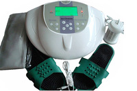 NEW ION DETOX FOOT SPA CLEANSE MACHINE+1 extra ion array as a gift with FIR belt,Tens Pad and Massage slipper, with aluminum box