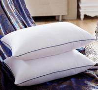 015  wholesale 50% discount  Pillow Five-Star Hotel Feather Silk/Light Pillows/Zero Pressure Memory Neck Health/Textile bedding