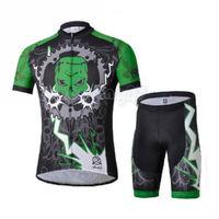 Bike Cycling Clothing Bicycle Wear Suit Short Sleeve Jersey + (Bib) Shorts S-3XL  CC1029