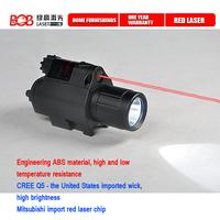 New 2014 200 Lumen Tactical Rifle Laser Sight Flashlight Combo & 5mw Red Laser Sight for Pistol JGSD Free Shipping