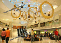 Mall/Square/Hotel/Supermaket Christmas New Year Circle  Festival Ceremony Decoration Customized