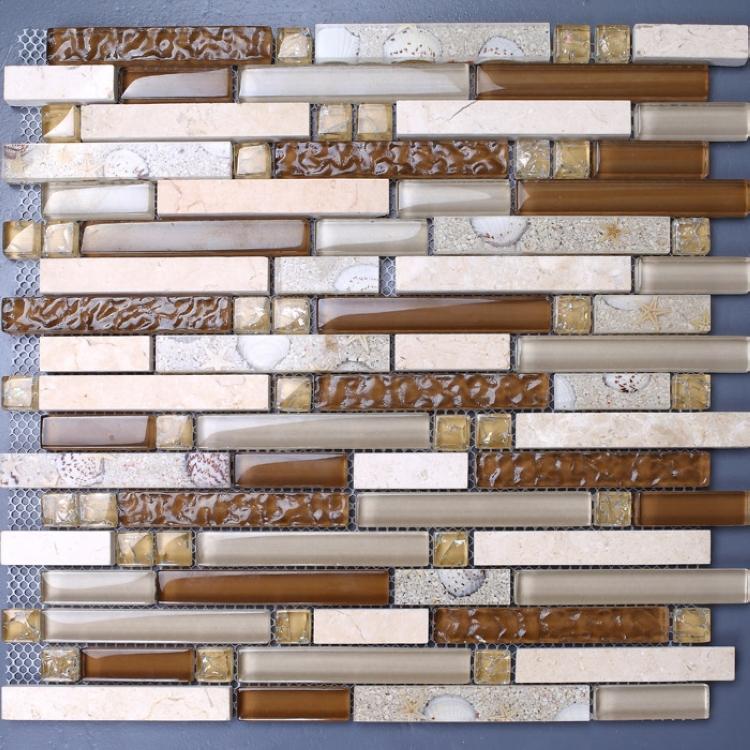 Wandtegels Keuken Karwei : Glass Mosaic Tile Backsplash