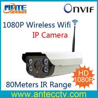 2.0Megapixel 1080P Realtime Wireless Wifi HD IP Network Security Camera 80Meters IR Range