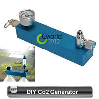 Free Shipping DIY CO2 Diffuser Generator System With Check Valve + Bubble Counter + Pressure Gauge For Aquarium Fish Tank