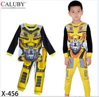 X-456 new children's children's pajamas pajamas clothes sleeve cotton cartoon baby pajamas girl boy suit set