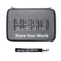 New Waterproof  Portable Case For SJ4000 Gorpo Bag Box PU Protection For SJ4000 Go Pro Hero /2/3/3+ Size 32*22*7CM