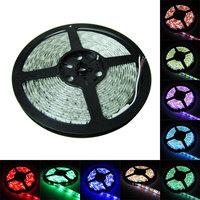 16.4ft 24V 5050 RGBW led strip  5m 300 leds RGB & white mixed color light lamps waterproof 60leds/m free shipping