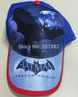 100pcs/Lot Free Shipping ! Hot Sale Batman Visors Cap Cartoon Sun Hat For Boys Summer Beret Cap A3407 Wholesale