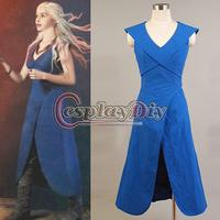 Custom Made Daenerys Targaryen Dress Cosplay Costume From Game of Thrones Movie Cosplay Costume