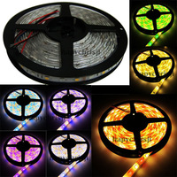 16.4ft 24V DC led strip RGBW W  5050 SMD 5m 300 leds RGB & warm white mixed color light lamps ribbon waterproof   free shipping