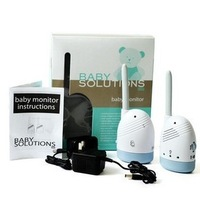 Original authentic BABY SOLUTIONS baby monitors listener +free shipping