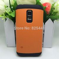 1pcs/lot SPIGEN SGP Slim Armor Case For Samsung Galaxy S5 Mini G800 Case Hybrid Neo Back Skin Protective Cover For S5 mini