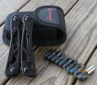 Ganzo Multi Tool Hand Kit G104 G2015PB w/ Pouch Sheath Multitool knife 440C DIY camping survival hunting outdoor Pocket Plier