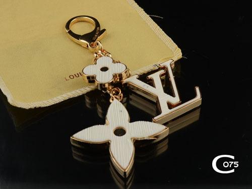 women's luxury designer flower key holder key chains lady insolence bag charm fashion accessories (China (Mainland))