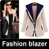 NEW 2014 blazer women, professional women's fashion casual blazer feminino wild, women blazers and jackets
