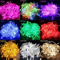 100 LED Fairy String Lights Christmas Wedding Tree Lighting Mood Light 10M multicolor