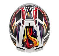 Sol automobile race helmet 68s motorcycle helmet motorcycle belt led lighting