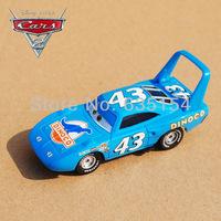 Free Shipping Brand New Original Pixar Cars 2 Toys The KING #43 Racing Car Diecast Metal Car Toy For Children's Gift