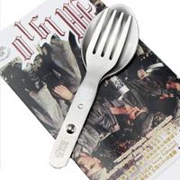 War II Germany Army Field Tableware Fork And Spoon M1910