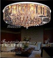 2014  Modern Living Room European-Style Crystal Ceiling Lamp Bedroom Lamp Restaurant The Living Room Ceiling Lamp DS-028