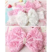 Wholesale Baby Infant Lace  Headband Kids Toddler Gilrs Flower Headbands