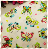 MB8749, 50cm*150cm Color Butterfly Series cotton fabric, diy handmade patchwork cotton fabric home textile Free shipping