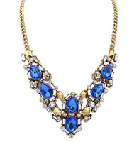 New style fashion temperament rhinestones personality  women necklace jewelry  X5000