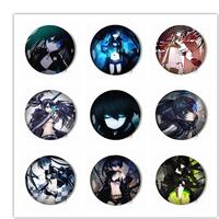 Anime Openers hot creative toy Animation BLACK ROCK SHOOTER Opener Keychain