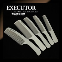[Free Shipping]Hairecut Comb White Carbon Apple Comb High Temperature Resistant Anti Static Ultrathin Soft PRO-001-005