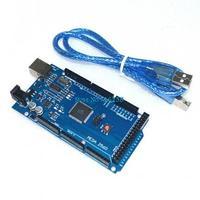 Freeshipping ! 20sets/lot Funduino Mega 2560 R3 Mega2560 REV3 ATmega2560-16AU Board + USB Cable compatible for arduino
