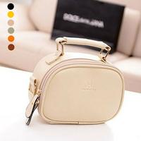 Fresh women's 2014 small handbag candy color vintage shoulder messenger female bags mini crossbody bag bolsas femininas