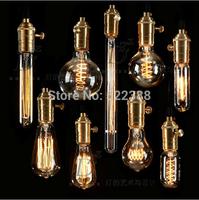A19T45 ST64 G80 G95 G125 T8 Edison Bulb Industrial Revolution Edison Light Bulb Classic Carbon Vintage Light Decorative lighting