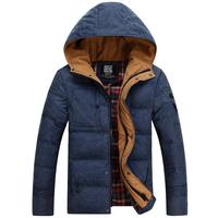 Free shipping men's winter jacket ,new arrived fashion outdoor winter down coat men,men outerwear jacket