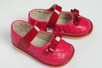 New Hot brand baby shoes kids will sound Leather shoes baby prewalker first walkers Toddler shoes for girls 5003