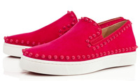 Women and Men Shoes SPIKES FLAT spiked rivets NEPTUNE LEATHER low top SNEAKERS