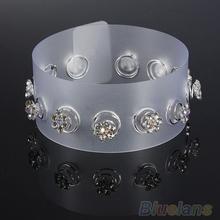 12Pcs Crystal Wedding Bridal Hair Pins Twists Coils Flower Swirl Spiral Hairpins 1HCJ