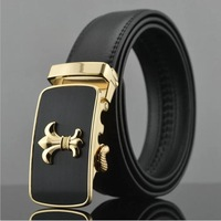 2014 men's genuine leather belt classic style fashion belts for men