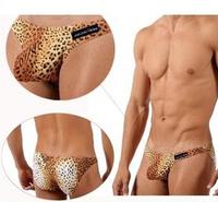 Men's underwear sexy wild leopard Triangle