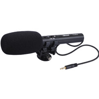 iShoot Pro DC/DV Stereo Microphone MIC for Digital SLR Camera Video Camcorder with Hot Shoe Mount
