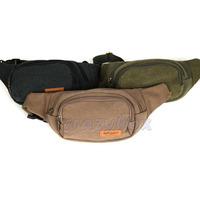 Multifunctional Men's Casual Canvas Shoulder Waist Pack Messenger Belt Purse Cellphone Bag Holder Fast Free Shipping