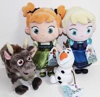 Frozen TODDLER Elsa Anna BABY Sven Olaf 4 Plush Toy Dollshot toy