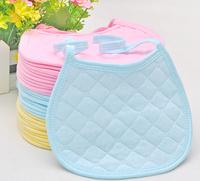 1 limited edition baby multicolour 100% cotton round edge small bib thickening bibs baby saliva tower/tissue/bibs