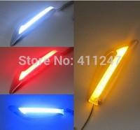 Bright LED color light dark side turn modified blade with strobe lights fender turn signal line